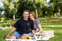 Balsamic Vinaigrette, Marinated Cheese Products Founders Jay and Loredana
